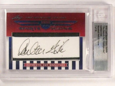 2010 Leaf Sports Icons Carlton Fisk autograph auto #D7/16 Hall Of Fame *46287