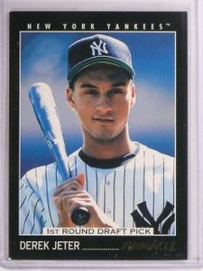1993 Pinnacle Derek Jeter rc rookie #457 *67535