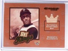 2002 Donruss Bat Kings Roberto Clemente bat #D20/125 #BK-4 *58491