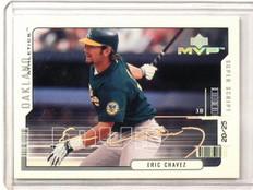 2000 Upper Deck MVP Super Script Eric Chavez #D20/25 #18 *42091