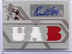 2008 Topps Triple Threads Roddy White auto autograph patch plate #D 1/1 *39077