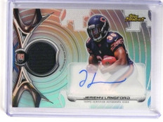 DELETE 12935 2015 Topps Finest Refractor Jeremy Langford autograph auto jersey rc  *51856
