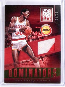 2013-14 Panini Elite Ralph Sampson Dominators Jersey Patch Prime #D06/15  *56702