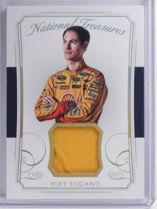 2016 Panini National Treasures Joey Logano Firesuit #D12/15 #FMJL *65364