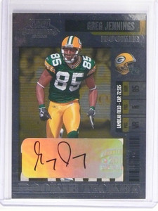 2006 Playoff Contenders Greg Jennings autograph auto rc rookie #168 *48924