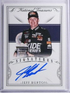2016 National Treasures Signatures Jeff Burton Autograph #D39/49 #SJB *65279