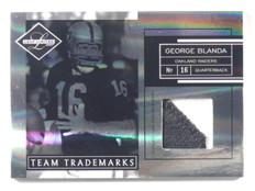 2007 Leaf Limited Team Trademarks George Blanda 2clr patch #D48/50 #TT-28 *39838
