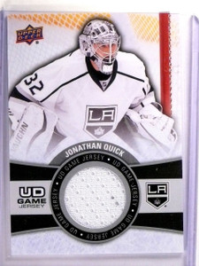 2015-16 Upper Deck Series 1 Jonathan Quick UD Game Jersey #GJJQ *54226