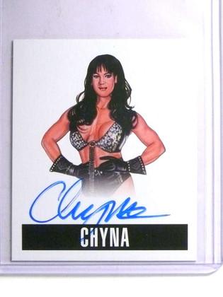 SOLD 14237 2014 Leaf Originals Wrestling Chyna autograph auto #C1 *67663