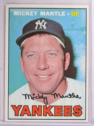 SOLD 15712 1967 Topps Mickey Mantle #150 EX *69226