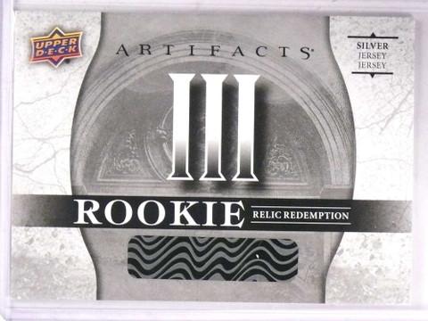 SOLD 15808 2017-18 Upper Deck Artifacts III Silver Rookie jersey Redemption  *69309