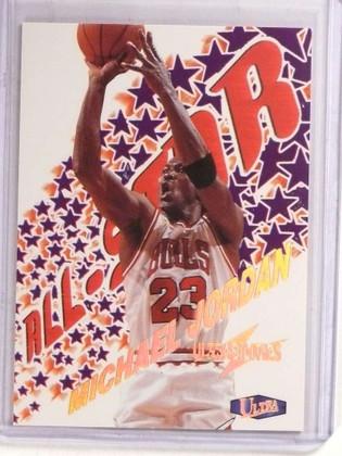 SOLD 16695 1997-98 Fleer Ultra Ultrabilities All-Star Michael Jordan #1of20AS *69712