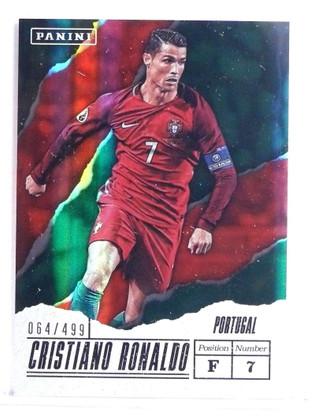 2017 Panini Father's Day Cristiano Ronaldo #D064/499 #CR *70748