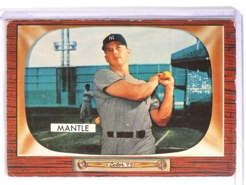 1955 Bowman Mickey Mantle #202 VG *70969