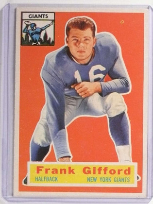 1956 Topps Frank Gifford #53 EX *71155