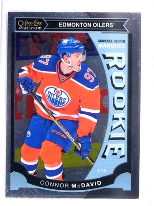 2015-16 Upper Deck O-Pee-CHEE OPC Connor Mcdavid rc rookie #M1 *72062