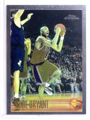 SOLD 19617 1996-97 Topps Chrome Kobe Bryant rc rookie #138 *72203