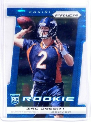 SOLD 4195 2013 Panini Prizm Prizms Light Blue Zac Dysert Rookie RC #D07/15 #299 *57279