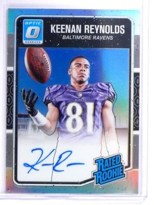 DELETE 8080 2016 Donruss Optic Holo Keenan Reynolds Rookie Autograph #D94/99 #179 *64375