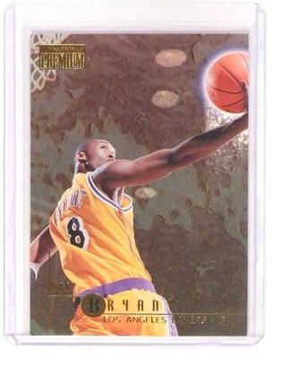 1996-97 Fleer Skybox Premium Kobe Bryant Rookie RC #55 Lakers *45448