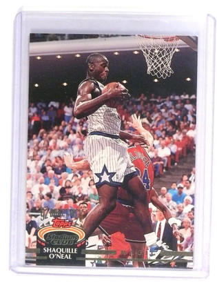 1992-93 Topps Stadium Club Shaquille O'Neal Rookie RC #247 *45212