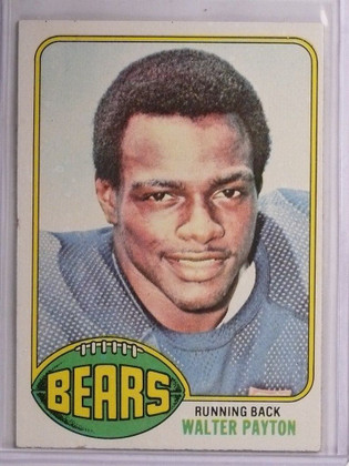 1976 Topps Walter Payton rc rookie #148 EX-MT *55100