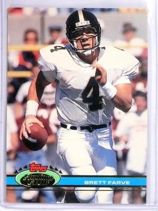 1991 Topps Stadium Club Brett Favre Rookie RC #94 *56896