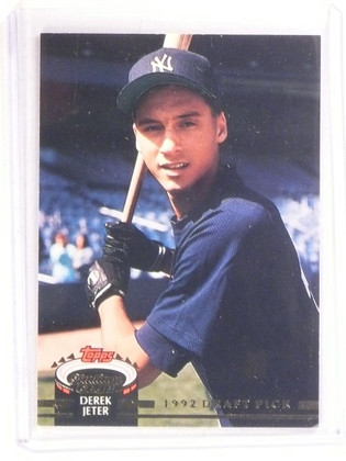 1993 Stadium Club Murphy Derek Jeter rc rookie #117 *67362