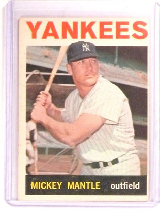 DELETE 9572 1964 Topps Mickey Mantle #50 VG-EX *67356