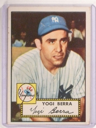 1952 Topps Vogi Berra #191 Yankees VG *67344