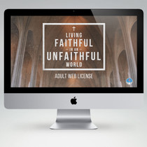 Living Faithful in a Unfaithful World Bible Study Teaching Materials (Adult Edition)