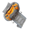 4 Pockets, 3 Elastic Bands & 2 Cylindrical Elastic Slots