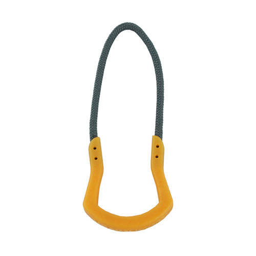 Orange pull with Wolf Gray cord