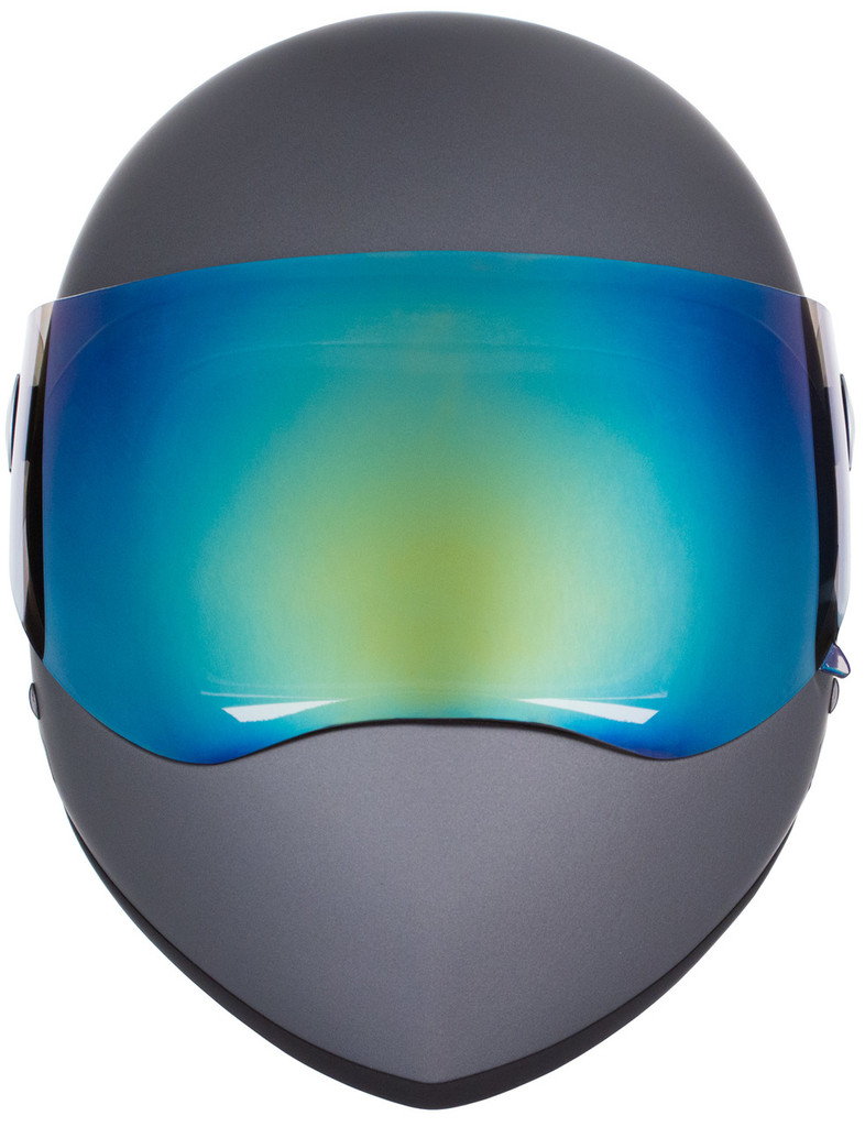 Grey Matte W/ Mirror Visor | S1 Lifer Full Face Helmet Specs: • Specially formulated EPS Fusion Foam • Certified Multi-Impact (ASTM) • Certified High Impact (CPSC) • 5x More Protective Than Regular Skate Helmets • Deep Fit Design