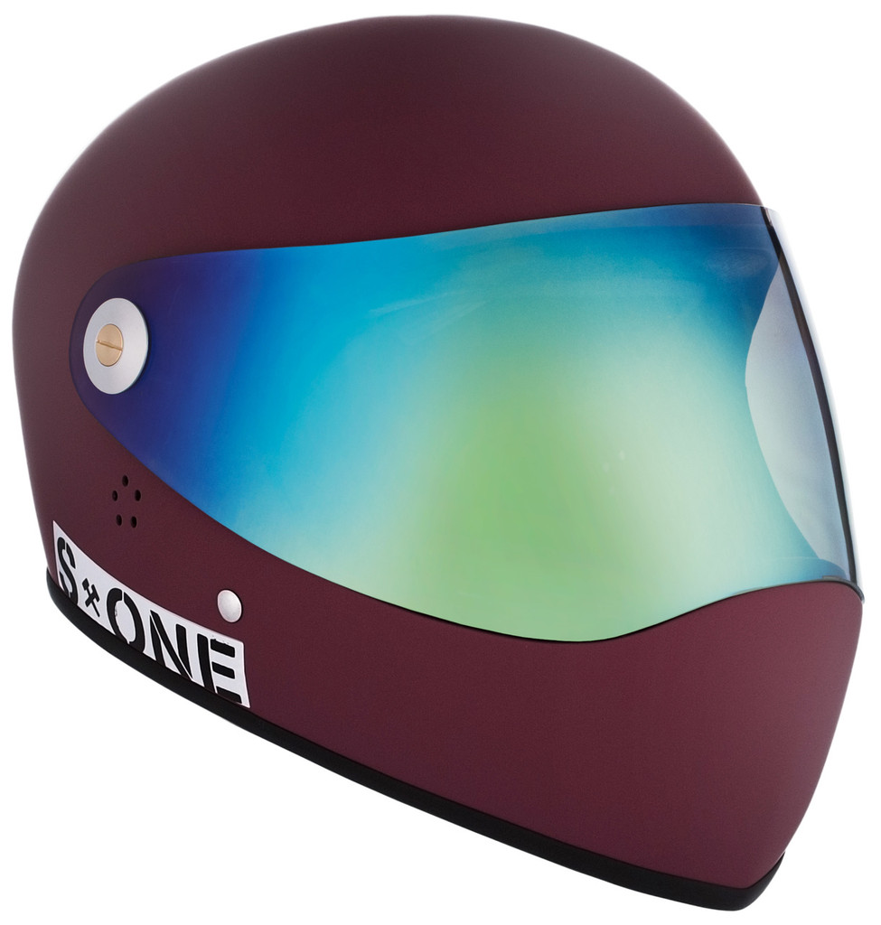 Maroon Matte W/ Iridium Visor | S1 Lifer Full Face Helmet Specs: • Specially formulated EPS Fusion Foam • Certified Multi-Impact (ASTM) • Certified High Impact (CPSC) • 5x More Protective Than Regular Skate Helmets • Deep Fit Design