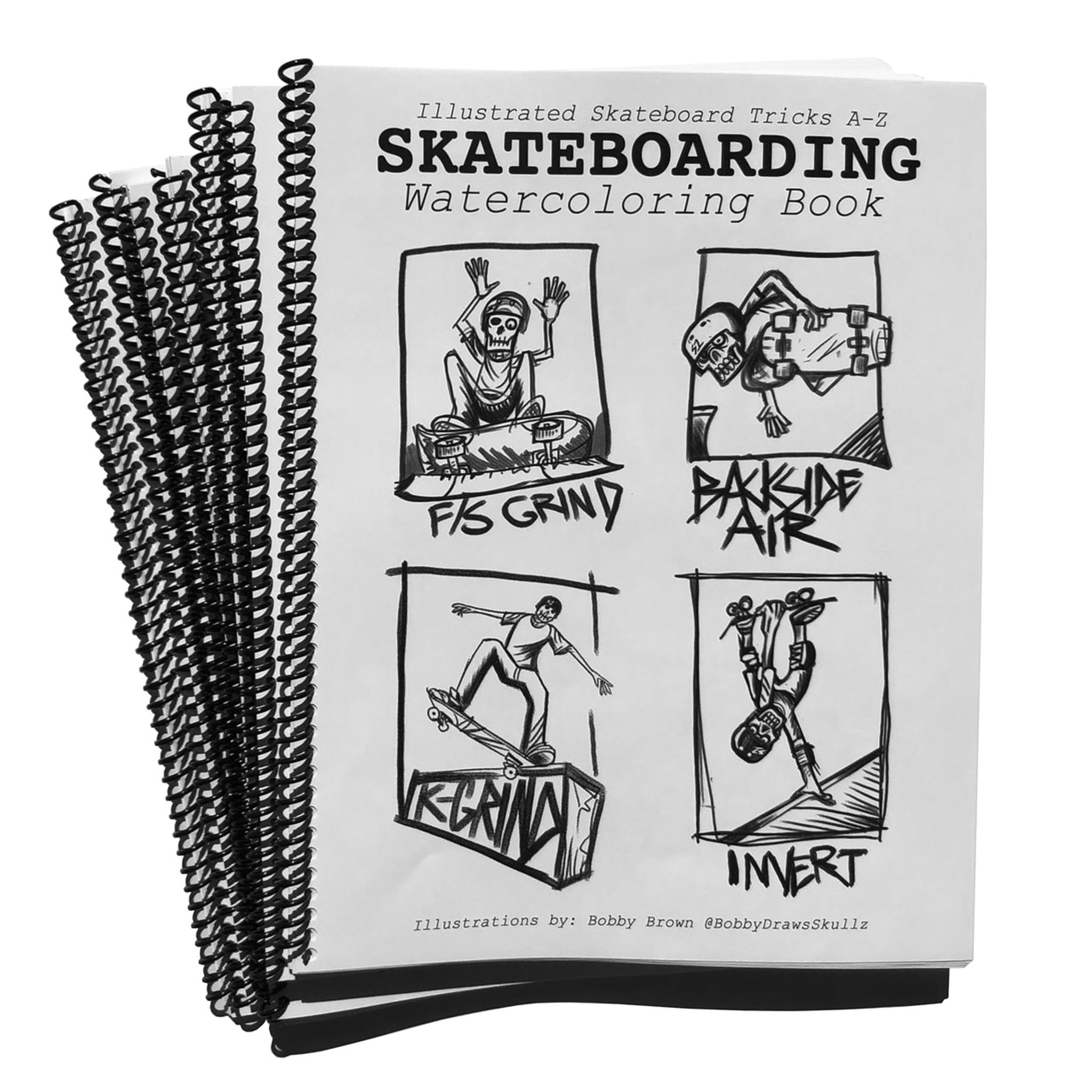 Skateboarding Tricks A-Z Coloring Book - S1 Helmet Co. Official Store