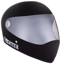 Black Matte W/ Mirror Visor | S1 Lifer Full Face Helmet Specs: • Specially formulated EPS Fusion Foam • Certified Multi-Impact (ASTM) • Certified High Impact (CPSC) • 5x More Protective Than Regular Skate Helmets • Deep Fit Design