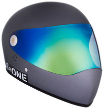 Grey Matte W/ Iridium Visor | S1 Lifer Full Face Helmet Specs: • Specially formulated EPS Fusion Foam • Certified Multi-Impact (ASTM) • Certified High Impact (CPSC) • 5x More Protective Than Regular Skate Helmets • Deep Fit Design