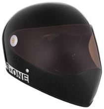 Black Gloss Glitter W/ Tint Visor   S1 Lifer Full Face Helmet Specs: • Specially formulated EPS Fusion Foam • Certified Multi-Impact (ASTM) • Certified High Impact (CPSC) • 5x More Protective Than Regular Skate Helmets • Deep Fit Design