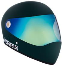 Dark Green Matte W/ Iridium Visor | S1 Lifer Full Face Helmet Specs: • Specially formulated EPS Fusion Foam • Certified Multi-Impact (ASTM) • Certified High Impact (CPSC) • 5x More Protective Than Regular Skate Helmets • Deep Fit Design