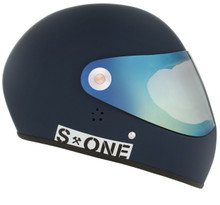 Navy Matte W/ Mirror Visor | S1 Lifer Full Face Helmet Specs: • Specially formulated EPS Fusion Foam • Certified Multi-Impact (ASTM) • Certified High Impact (CPSC) • 5x More Protective Than Regular Skate Helmets • Deep Fit Design