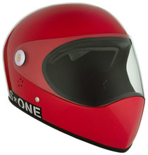 Red Gloss W/ Clear Visor | S1 Lifer Full Face Helmet Specs: • Specially formulated EPS Fusion Foam • Certified Multi-Impact (ASTM) • Certified High Impact (CPSC) • 5x More Protective Than Regular Skate Helmets • Deep Fit Design