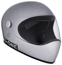 Silver Gloss Glitter W/ Clear Visor | S1 Lifer Full Face Helmet Specs: • Specially formulated EPS Fusion Foam • Certified Multi-Impact (ASTM) • Certified High Impact (CPSC) • 5x More Protective Than Regular Skate Helmets • Deep Fit Design