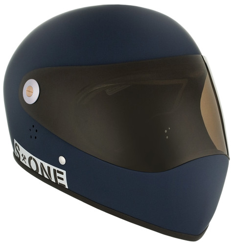 Navy Matte W/ Tint Visor | S1 Lifer Full Face Helmet Specs: • Specially formulated EPS Fusion Foam • Certified Multi-Impact (ASTM) • Certified High Impact (CPSC) • 5x More Protective Than Regular Skate Helmets • Deep Fit Design