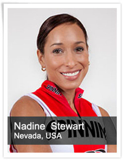 Nadine Stewart, Spinning® Master Instructor | United States