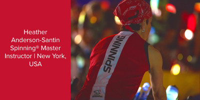 Heather Anderson-Santin, Spinning® Master Instructor | New York, USA