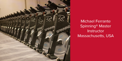Michael Ferrante, Spinning® Master Instructor | Massachusetts, USA