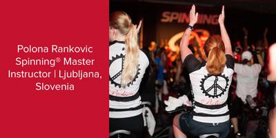 Polona Gosar,  Spinning® Master Instructor | Ljubljana, Slovenia