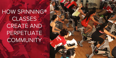 How Spinning® Classes Create and Perpetuate Community