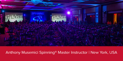 Anthony Musemici, Spinning® Master Instructor | New York, USA